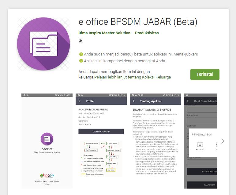 E-Office BPSDM